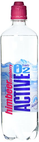 Active O2 Himbeer Cranberry, 8er Pack, Einweg (8 x 750 ml)