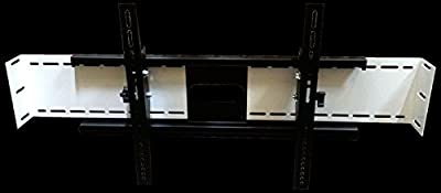 """SlydLock Fireplace Nook TV Mount - Fits all Plasma/LCD/LED Tilt or Flat 32-80"""""""