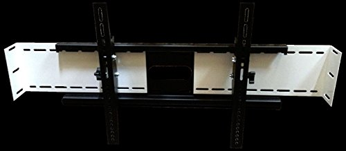 SlydLock Fireplace Nook TV Mount - Fits All Plasma/LCD/LED Tilt or Flat 32-80'