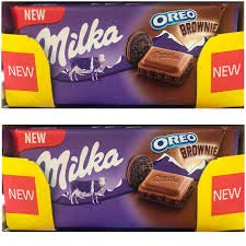 Cheap SALE Start 5x Milka Oreo Brownie Bars Ranking TOP15 New Chocolate -