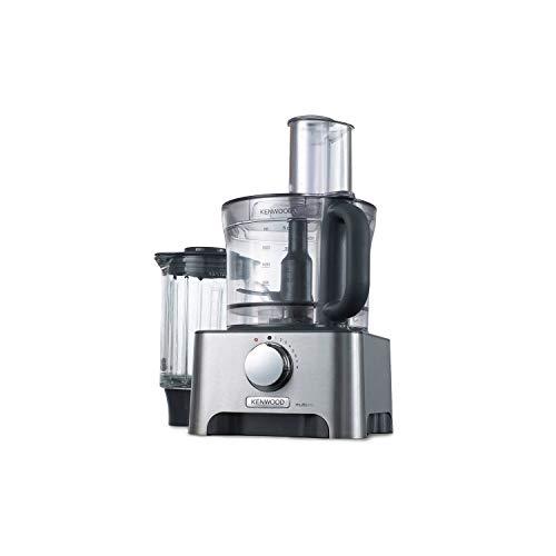 Kenwood FDM790BA MultiPro Food Processor, Robot da Cucina con Frullatore e Bilancia, 1000 W, 3 Litri, Metallo Pressofuso, Argento