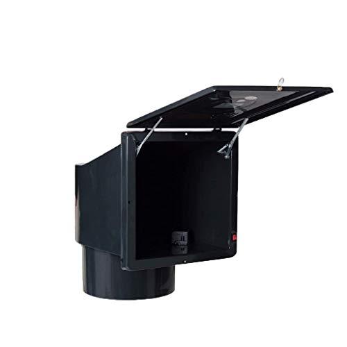 YCZDG Extractor de Cocina, Ventilador de ventilación, Techo Cuadrado de Cocina Gas Inicio Potente Ventilador de Escape Silencio