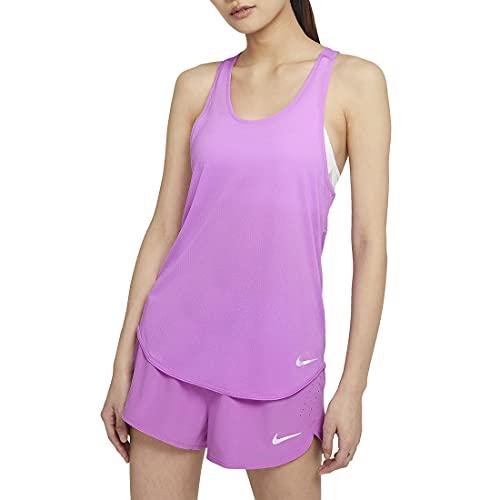 Nike Breathe Cool Canotta da donna, viola., L