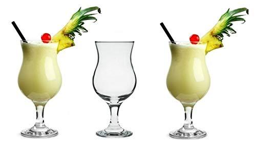 Topkapi 44872 Pina Colada Cocktailgläser 380 ml Longdrinkgläser Bargläser Partygläser 6 Stück