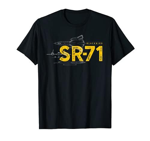 SR-71 Blackbird Air Force Jet militaire T-Shirt