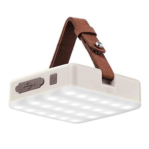 HehiFRlark - Luz portátil de emergencia para tienda de campaña con luces blancas.