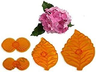 S.Han Plastic Fondant Cutter Petal Embossed Mould Mold Baking Cake Decoration Tool Clay Art