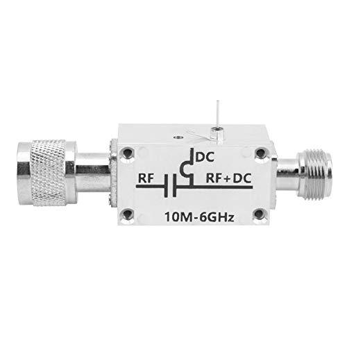 Módulo amplificador de banda ancha de RF, alimentador de RF, bloqueador de CC en T de polarización de aleación de aluminio, para radioaficionado 10MHz-6GHz, módulo amplificador de RF de banda