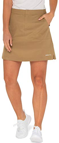 Arctix Women's Active Skort,  Khaki,  Medium (8-10) 17' Length