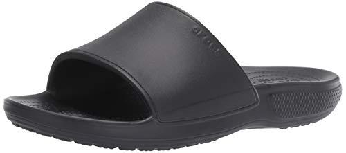 Crocs Unisex Adults' Classic II Slide Open Toe Sandals , Black (Black 001) , 11 UK (12 US)