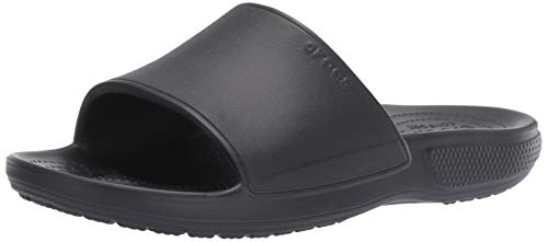 Crocs Unisex Adults' Classic II Slide Open Toe Sandals , Black (Black 001) , 11 UK (12 US)