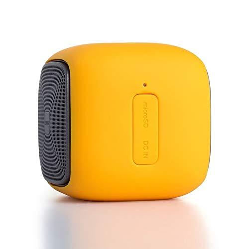qiyanMini Altavoz Bluetooth Inalámbrico Altavoces Super Bass con Funciones de Tarjeta SD Impermeable + para Smartphones en Altavoces Portátiles d