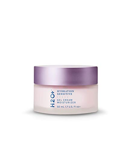 Face Gel Cream Moisturizer for Sensitive Skin by H2O+, Hydration Sensitive System Step 4, Soothes Redness and Increases Hydration, 1.7 Fl oz | Japan Designed Clean Skincare