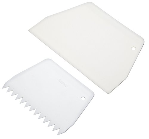 KitchenCraft Sweetly Does It Cake Scraper/Icing Smoother Tool Set....