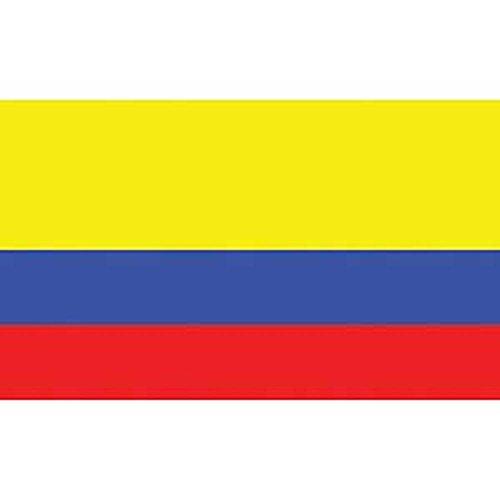 FindingKing drapeau de la Colombie sur un adhésif - 12 \