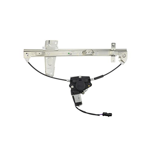 A-Premium Power Window Regulator with Motor Replacement for Jeep Grand Cherokee WJ 2001-2004 Front Left Driver Side
