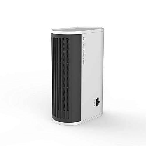 Portátil de ahorro de energía del calentador for la seguridad del pequeño escritorio de doble finalidad del calentador sin luz y bajo nivel de ruido Diseño La tranquilidad menudo hace olvidar su exist