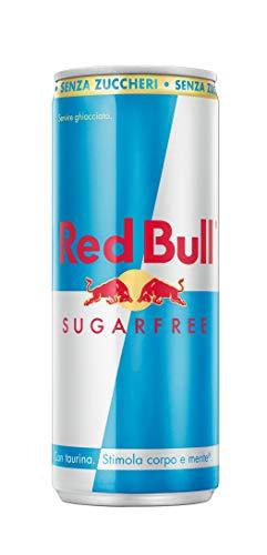 Red Bull Bevanda Energetica, senza Zuccheri, 250ml