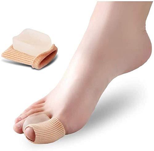Ortesis del dedo del pie For alisadores del dedo del pie, Valgus de silicona for la corrección del pie vendaje protector del gel del dedo del pie for los separadores de plancha por correctores