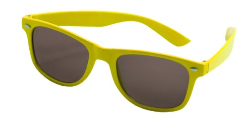 Folat Party Brille Blues Brothers Neon Gelb