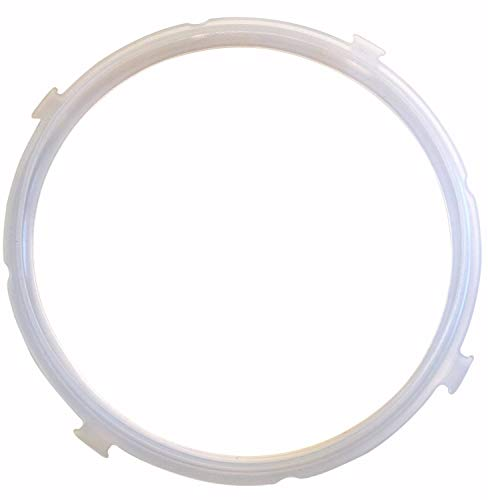 """""""GJS Gourmet Silicone Pressure Ring Compatible With MIDEA electric pressure cookers (various models) (5 & 6 Quart, Ears)"""". This ring is not created or sold by Midea."""