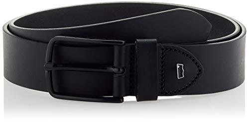 Levi's LEVIS FOOTWEAR AND ACCESSORIES Dash Belt Cintura, Black, 110 Unisex-Adulto