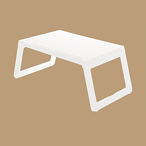 MQJ Tavolo Pieghevole, per Supporto per Tavolo per Laptop con Supporto per Notebook Design Ergonomico Pieghevole Regolabile per Ultrabook, Netbook o Tabl