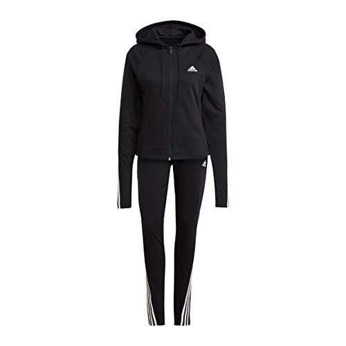 adidas Damen Cotton Energize Trainingsanzug, Black, M