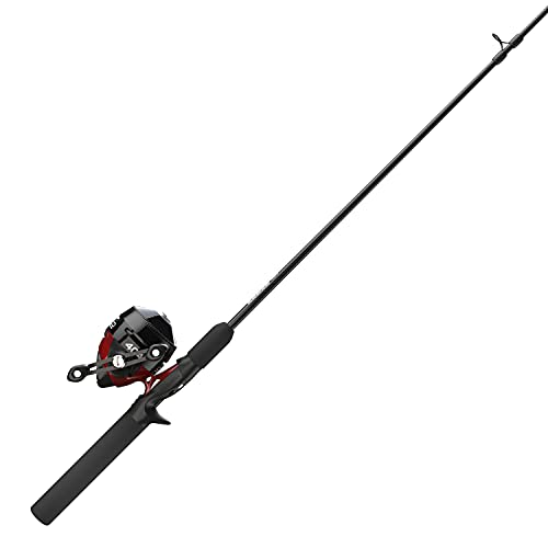 Zebco 404 Spincast Reel and Fishing Rod Combo, 6-Foot...
