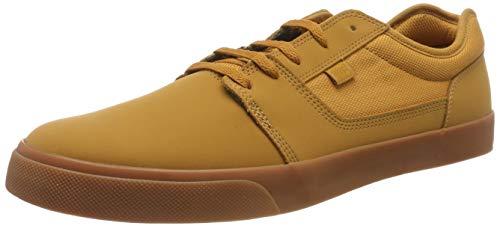DC Shoes Herren Tonik-Low-top Shoes for Men Skateboardschuhe, Brown/Gum, 44 EU