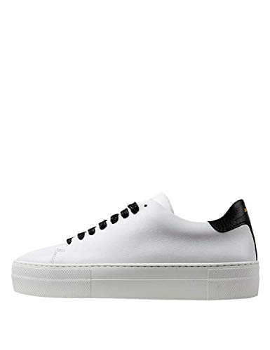 Jim Rickey Women's Pulp Sneakers Leather -Black White in Size 41
