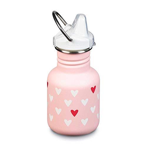 Klean Kanteen Unisex– Erwachsene Kanteen Classic Trinkflasche, Millenial Hearts (matt), One Size