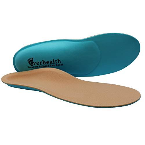 EVERHEALTH Orthopädische Einlegesohlen für Diabetiker, Einlegesohlen für therapeutische Schuhe, Kissen für Herren und Damen