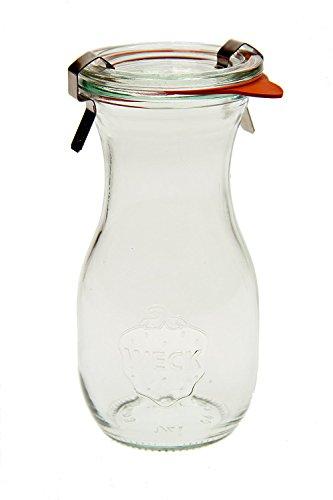 Weck 763 Juice Jar - .25 Liter, Set of 6