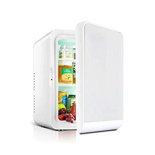 GXT Mini refrigerador del Coche 22L Nevera cosmética de Mama máscara Leche Nevera Estudiante Dormitorio Principal Mini (Color : Silver b, Size : 22L)