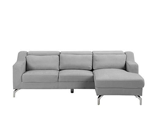 Canapé d'angle Tissu Pas cher Confort Violet
