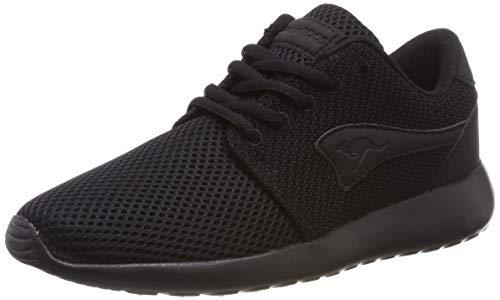 KangaROOS Damen Mumpy Sneaker, Jet Black/Mono 5500, 38 EU