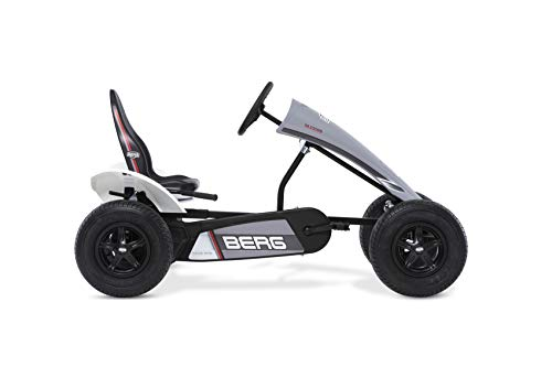 Berg Gokart mit XL-Frame Race GTS mit Dreigangschaltung | Kinderfahrzeug , Tretauto mit Verstellbarer Sitz, Mit Freilauf, Kinderspielzeug geeignet für Kinder im Alter ab 5 Jahren