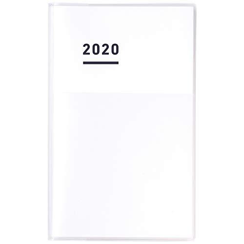 コクヨ ジブン手帳 DIARY 手帳 2020年 A5 スリム マンスリー&ウィークリー ホワイト ニ-JCD1W-20 2019年 11...