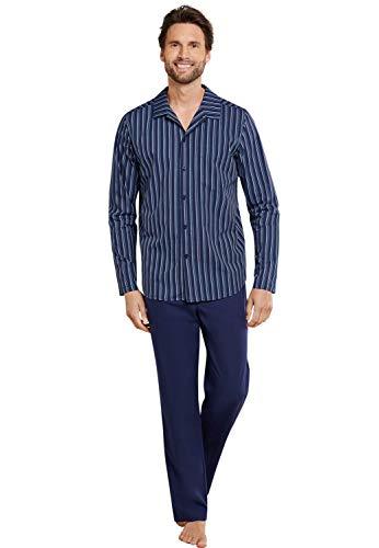 Seidensticker Smart Business Pyjama, durchgeknöpft Herren