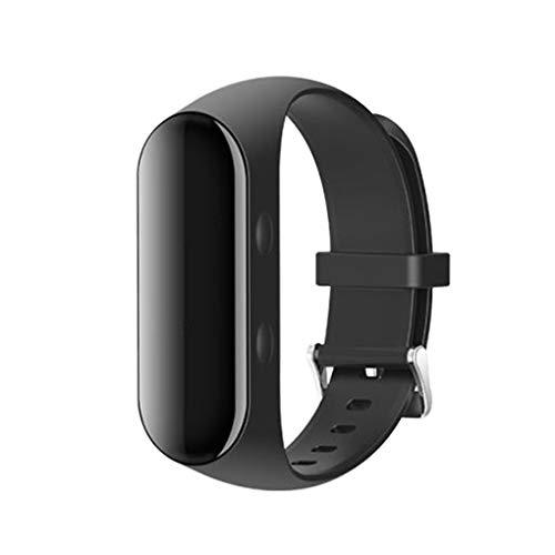 rongweiwang HD Voice Recorder MP3-Player Uhr Diktiergerät Armband Ton o Noise Reduction Digital Recorder E-Book-Lesen, 16GB