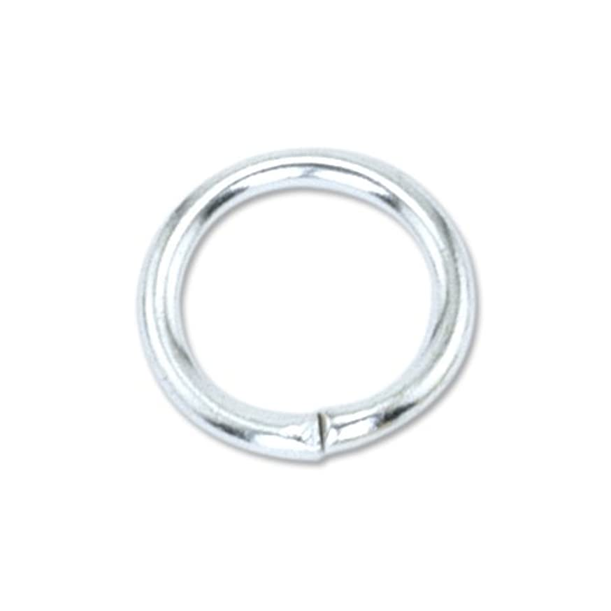 Artistic Wire 314B-009 Beadalon Jump Ring 10mm Silver, Plated, 30-Piece