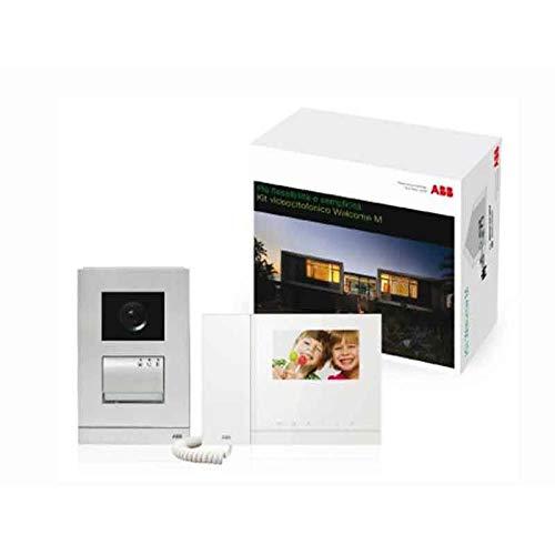 Abb WLK211B - Kit de videoportero con pantalla a color y memoria de 2 hilos