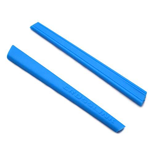 SOODASE Blau Ersatz Silikon Rahmenbein Gummi-Kit Für Oakley Crosslink Pitch Sonnenbrille
