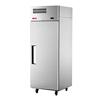 """Turbo Air EF24-1-N Reach-in Single Section E-Line Freezer, 28-3/4""""W & Solid Door"""