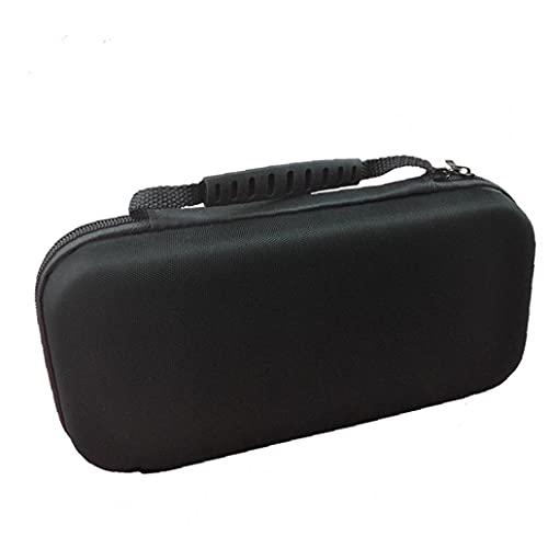 Estuche de almacenamiento portátil para Nintendo Switch Game Console Hard Shell Travel Travel Bag Black Tool-Libre, fácil de instalar