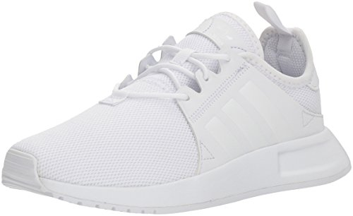 adidas Originals Kids Unisex's X_PLR Running Shoe, White/White/White, 7 M US Big Kid
