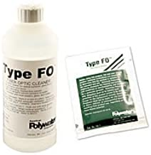 Type FO Anhydrous Alcohol Fiber Cleaner - 16 oz Bottle