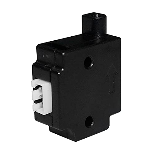 Ouitble Filamentbrucherkennungs-Sensormodul 3D-Drucker Filamentbrucherkennungsmodul mit 1 m Kabel für 1,75 mm Filament Extruder Run-Out Sensor Materialdetektor(Schwarz)