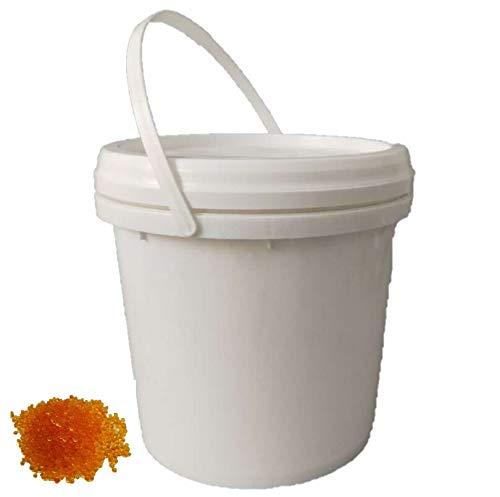 1x 5kg Silica Gel orange im 5l Eimer Raum- Luftentfeuchter Trockenmittel, regenerierbar, mit Farbindikator